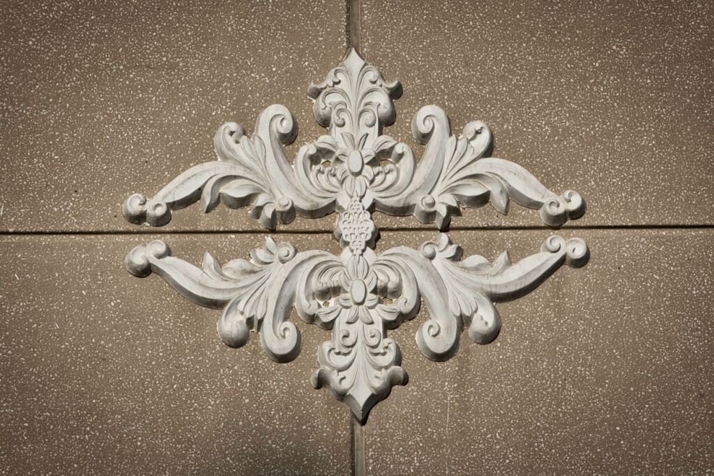 Index Residence building detail.